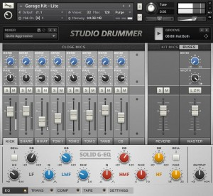 Program Native Instruments Studio Drummer
