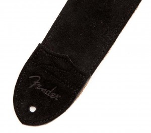 "Pasek do gitary Fender 2.5"" F Suede Black 099-0692-001"