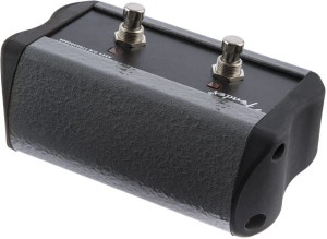 Fender 2-Button Footswitch Acoustic Pro/SFX Black