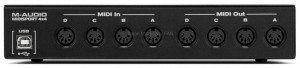 M-Audio Midisport 4x4 - interface MIDI USB