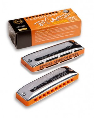 Seydel Blues Session Steel D - harmonijka ustna
