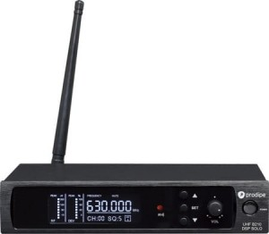 MIKR. PRODIPE B210 SOLO DSP UHF - HEADSET 100 KAN.