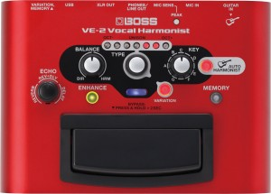 DSP BOSS VE-2 VOCAL PROCESSOR