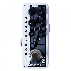 Mooer ME MPA 005 MICRO PREAMP FIFTY - FIFTY
