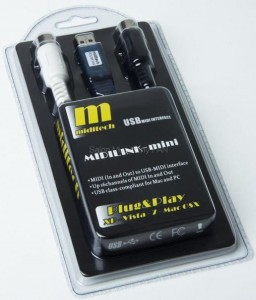 Miditech Midilink Mini Interface MIDI USB