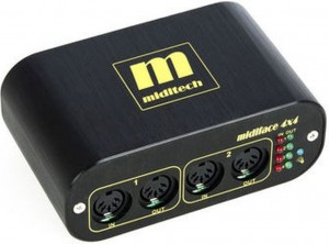 Miditech Midiface 4x4 interface MIDI USB