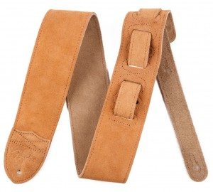 "Pasek do gitary Fender 2.5"" F Suede Tan 099-0692-002"