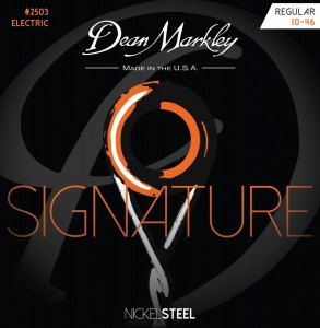 Struny do gitary elektrycznej Dean Markley Signature Nickel Steel 2503 Regular 10-46