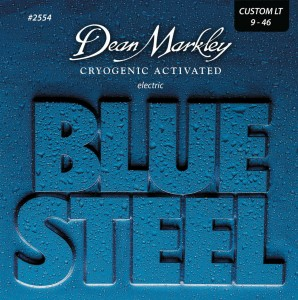 Struny do gitary elektrycznej Dean Markley Blue Steel 2554 Custom Light 9-46