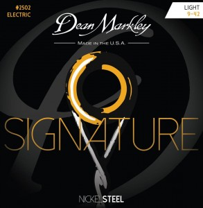 Struny do gitary elektrycznej Dean Markley Signature Nickel Steel 2502 Light 9-42