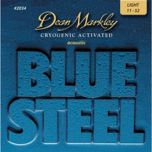 Dean Markley Blue Steel 2034 Light 11-52 – struny do gitary akustycznej