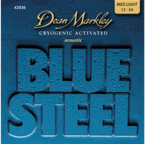 Dean Markley Blue Steel 2036 Med Light 12-54 – struny do gitary akustycznej