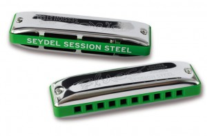 Seydel Blues Session Steel Bb Summer Edition - harmonijka ustna
