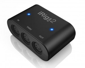 IK iRig MIDI 2 interface midi iOS OS X