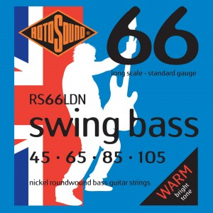 Rotosound RS66LDN Swing Bass 66 45-105 – struny do gitary basowej
