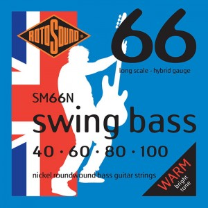 Rotosound RS66N Swing Bass 66 40-100 – struny do gitary basowej