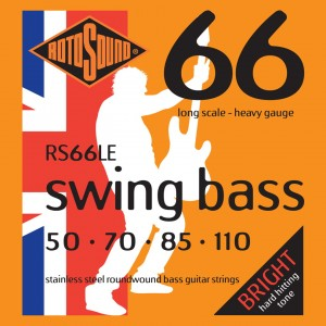 Rotosound RS66LE Swing Bass 66 50-110 – struny do gitary basowej