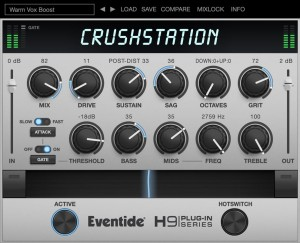 Eventide CrushStation – wtyczka overdrive/distortion