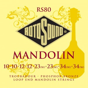 Struny do mandoliny Rotosound RS80 Troubadour