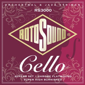 Struny do wiolonczeli Rotosound RS3000 Cello