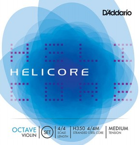 Struny skrzypce D'addario Helicore Octave