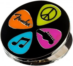 Magnes - klips Fender Magnet Clip Love Peace and Music