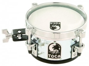 "Timbales Mini Toca T-406AC 6""acrylic clear"