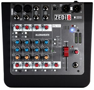 MIKSER ALLEN & HEATH ZEDi-8