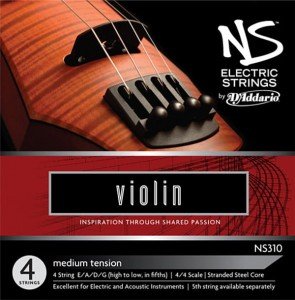Struny skrzypce D'addario NS Electric Set 4/4