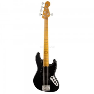 Fender Jazz Bass Modern Player V Satin MN BLK gitara basowa