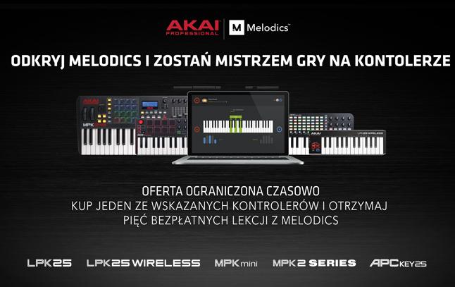 Akai melodics