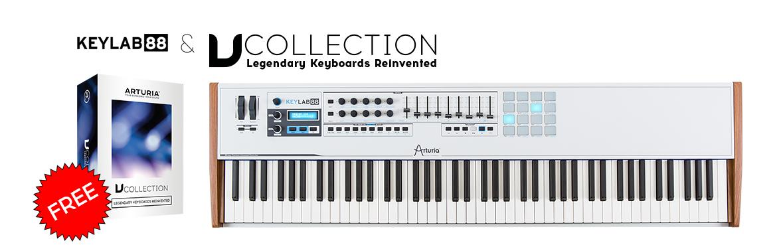 Arturia Keylab 88 + V Collection 5 free
